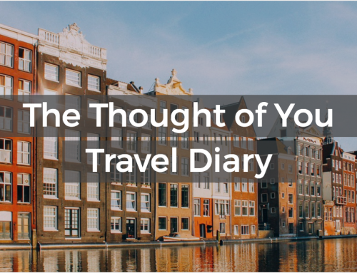 The Thought of You Travel Diary